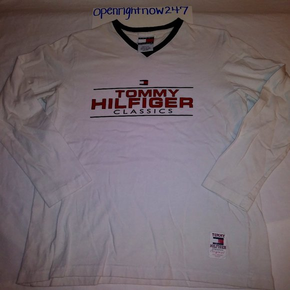 WOMENS TOMMY HILFIGER LONG SLEEVE TEE #12